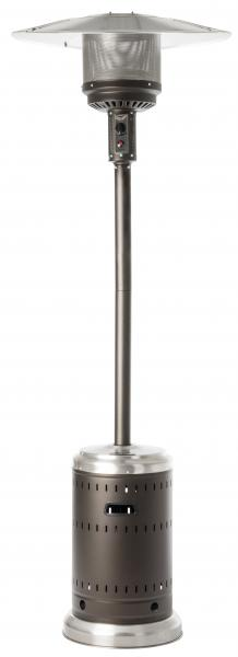 Fire Sense Ash and Stainless Steel Finish Patio Heater 1