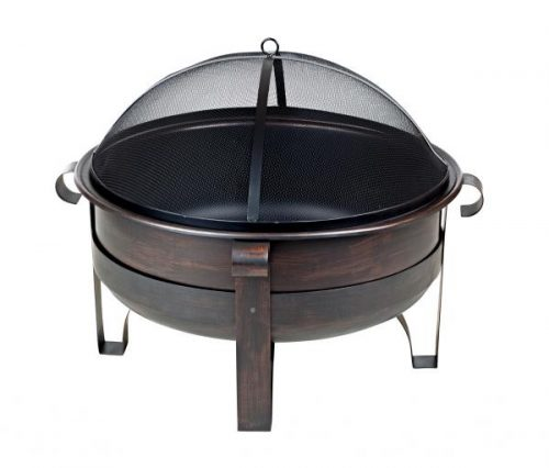 Fire Sense Cornell Wood Burning Fire Pit