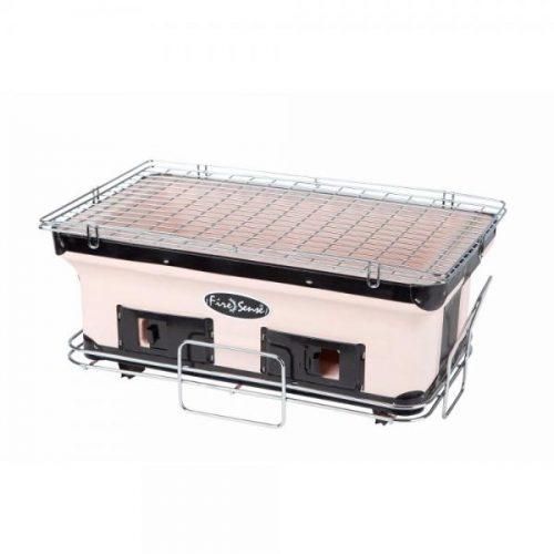 Fire Sense WT Living HotSpot Rectangle Large Yakatori Charcoal Table Grill