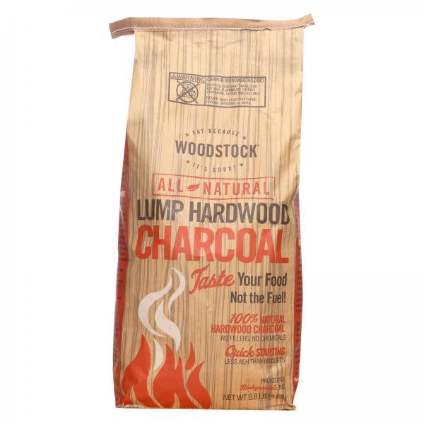 Woodstock Charcoal - All Natural Lump Hardwood - 8.8 lb Bag